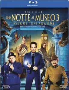 Notte al museo 3. Il segreto del faraone di Shawn Levy - Blu-ray