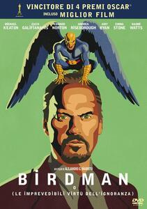 Birdman o L'imprevedibile virtù dell'ignoranza di Alejandro González Iñárritu - DVD