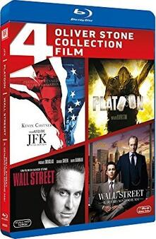 Oliver Stone Collection. 4 film (4 Blu-ray) di Oliver Stone