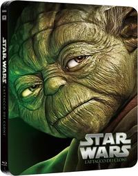 Cover Dvd Star Wars: Episodio II - L'attacco dei cloni (Blu-ray)