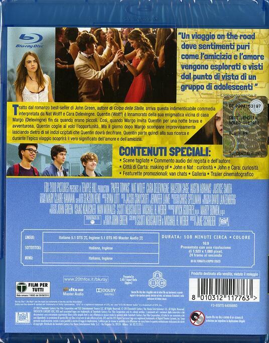 Città di carta di Jake Schreier - Blu-ray - 2