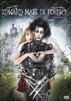 Edward Mani Di Forbice Dvd Film Di Tim Burton Fantastico