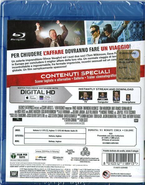 Affare fatto di Ken Scott - Blu-ray - 2