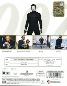 Daniel Craig Collection. 007 (4 Blu-ray) di Martin Campbell,Marc Forster,Sam Mendes - 2