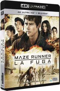 Maze Runner. La fuga (Blu-ray + Blu-ray 4K Ultra HD) di Wes Ball