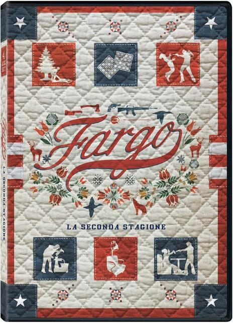 Fargo. Stagione 2. Serie TV ita (4 DVD) di Randall Einhorn,Adam Bernstein,Colin Bucksey - DVD