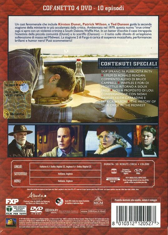 Fargo. Stagione 2. Serie TV ita (4 DVD) di Randall Einhorn,Adam Bernstein,Colin Bucksey - DVD - 2