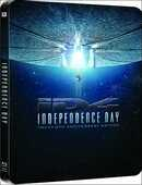 Film Independence Day. Ed. rimasterizzata Roland Emmerich