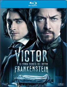 Victor. La storia segreta del Dottor Frankenstein di Paul McGuigan - Blu-ray