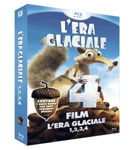 L' era glaciale 1, 2, 3, 4 (DVD + 4 Blu-ray) di Steve Martino,Carlos Saldanha,Mike Thurmeier,Chris Wedge - 2