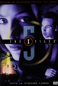 X Files. Stagione 5. Serie TV ita (6 DVD) - DVD