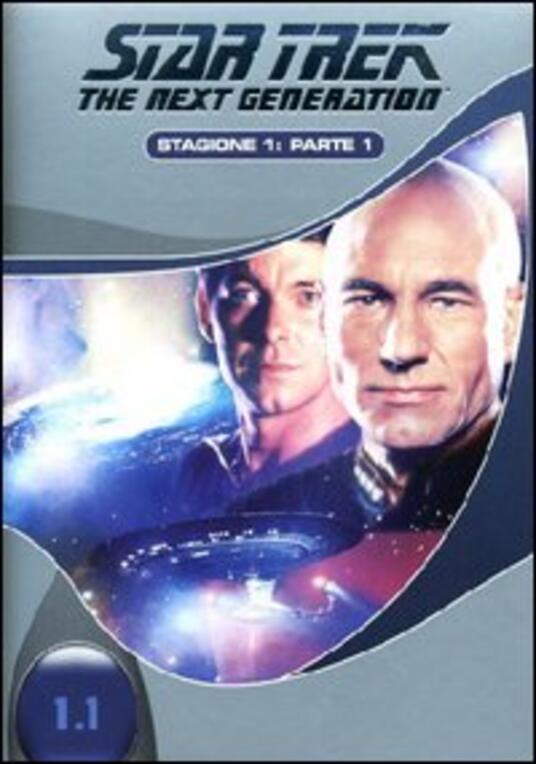 Star Trek. The Next Generation. Stagione 1. Parte 1 (3 DVD) - DVD