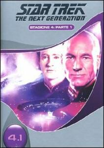 Star Trek. The Next Generation. Stagione 4. Parte 1 (3 DVD) - DVD