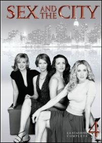 Cover Dvd Sex and the City. Stagione 04 (DVD)