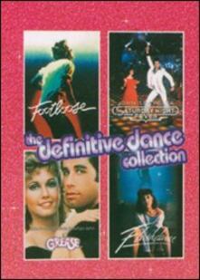 The Definitive Dance Collection (4 DVD) di John Badham,Randal Kleiser,Adrian Lyne,Herbert Ross