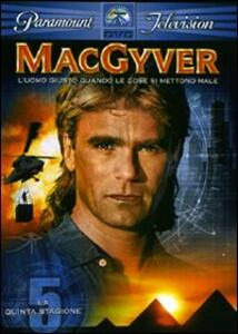 MacGyver. Stagione 5 (6 DVD) - DVD