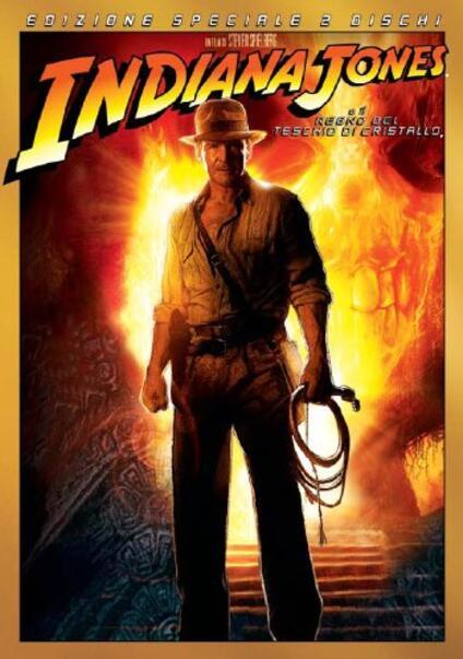 Indiana Jones e il Regno del Teschio di Cristallo (2 DVD)<span>.</span> Special Edition di Steven Spielberg - DVD