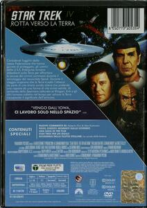 Star Trek IV. Rotta verso la Terra di Leonard Nimoy - DVD - 2