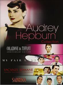 Audrey Hepburn Collection (4 DVD) di George Cukor,Blake Edwards,Billy Wilder,William Wyler