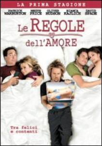 Le regole dell'amore. Stagione 1 - DVD