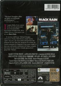 Black Rain. Pioggia sporca di Ridley Scott - DVD - 2
