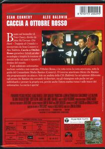 Caccia a Ottobre Rosso di John McTiernan - DVD - 2