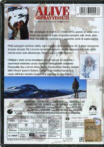 Alive. I sopravvissuti di Frank Marshall - DVD - 2