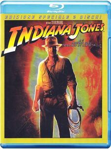 Indiana Jones e il Regno del Teschio di Cristallo (2 Blu-ray)<span>.</span> Special Edition di Steven Spielberg - Blu-ray