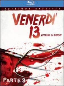 Venerdì 13. Parte III. Weekend di terrore di Steve Miner - Blu-ray