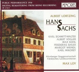 Hans Sachs - CD Audio di Gustav Albert Lortzing