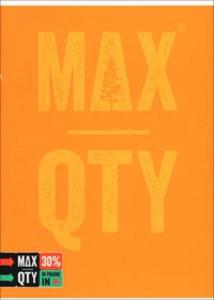 Cartoleria Quaderno standard A5 Seven MAX QTY Green Fluo. 1 rigo con margine Seven 0