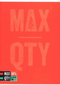 Cartoleria Quaderno standard A5 Seven MAX QTY Green Fluo. 1 rigo con margine Seven 1