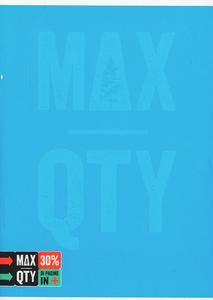 Cartoleria Quaderno standard A5 Seven MAX QTY Green Fluo. 1 rigo con margine Seven 2