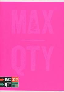 Cartoleria Quaderno standard A5 Seven MAX QTY Green Fluo. 1 rigo con margine Seven 3