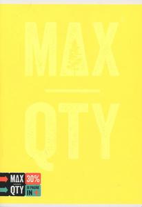Cartoleria Quaderno standard A5 Seven MAX QTY Green Fluo. 1 rigo con margine Seven 5