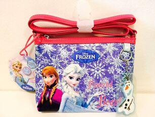 Cartoleria Borsa a Tracolla Piatta Frozen. Bright Lights Seven