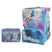 Schoolpack Frozen. Zaino Sdoppiabile Big + Astuccio organizzato 3 zip + Cuffie Stereo