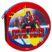 Cartoleria Astuccio Round Capitan America Civil War Seven