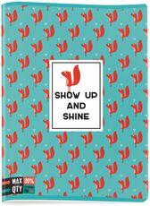 Cartoleria Quaderno maxi A4 Seven MAX QTY Animals. 1 rigo con margine Seven