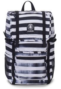 Zaino Triko Backpack Fantasy Invicta Black Striped Forest