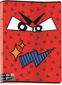 Quaderno maxi A4 Invicta Face. 1 rigo - 3