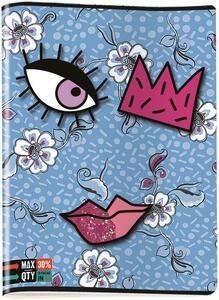 Quaderno maxi A4 Invicta Face. 1 rigo - 6