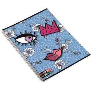 Quaderno con spirale maxi A4 Invicta Face. 1 rigo - 6