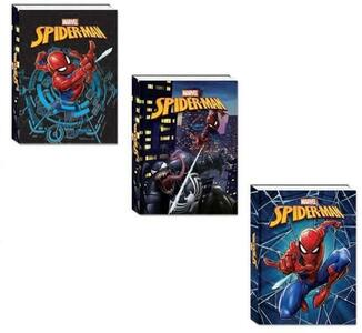Cartoleria Diario Spider-Man 2021-2022, 10 Mesi Assortito Seven