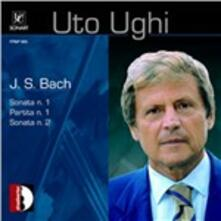 Sonate n.1, n.2 - Partita n.1 - CD Audio di Johann Sebastian Bach,Uto Ughi
