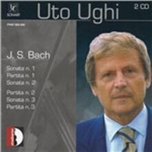 Sonate n.1, n.2, n.3 - Partite n.1, n.2, n.3 - CD Audio di Johann Sebastian Bach,Uto Ughi
