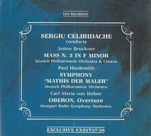 Messa n.3 in fa - CD Audio di Anton Bruckner,Sergiu Celibidache