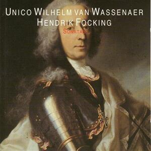 Sonata per flauto e basso continuo n.1 in Fa - CD Audio di Unico Wilhelm Van Wassenaer,Pieter van Houwelingen