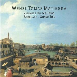 Serenata per flauto, viola e chitarra op.26 - CD Audio di Wenzeslaus Thomas Matiegka,Evelyn Frank