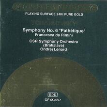 Sinfonia n.6 op.74 'patetica' in si - CD Audio di Pyotr Ilyich Tchaikovsky